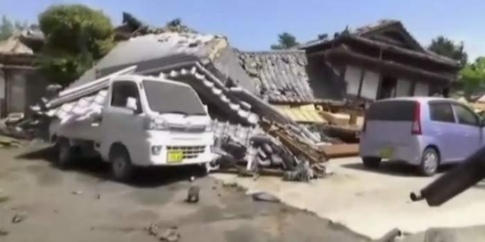 VIDEO / Cutremur de 6.4 grade pe scara Richter în Japonia. Autorităţile au emis alertă de tsunami