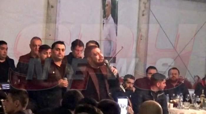 Nimeni nu se aștepta la așa ceva de la Florin Salam! Ce gest a făcut manelistul înainte de a cânta, de jale, deasupra sicriului în care era corpul neînsuflețit al lui Fane Spoitoru! Video