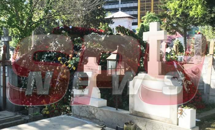 Imagini EXCLUSIVE! Cum arată cimitirul Bellu, după înmormântarea lui Fane Spoitoru