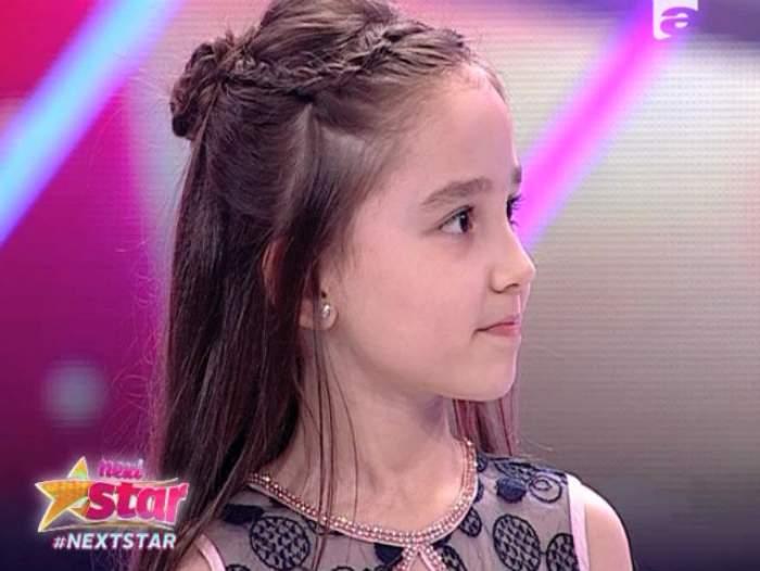 """VIDEO / Fetița cu voce de aur! Gunay Cilenti a făcut furori pe scena de la """"Next Star"""""""