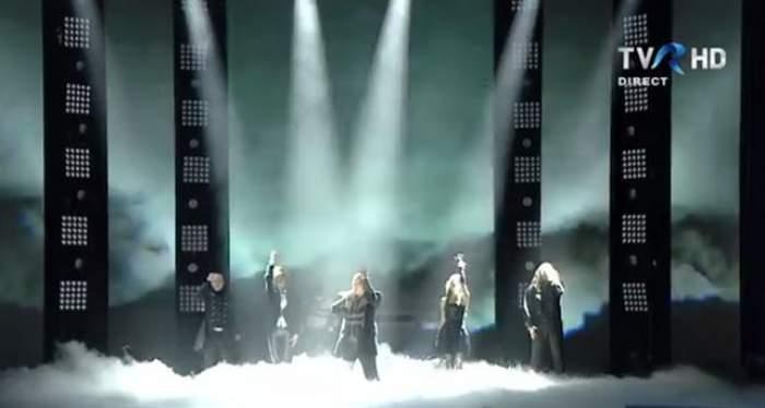 VIDEO / România a fost eliminată de la Eurovision! Reacţia lui Ovidiu Anton