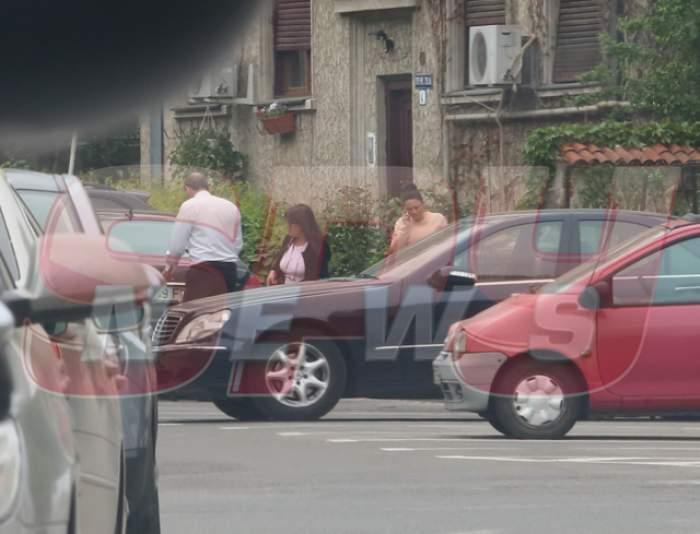 Oana Mizil şi-a scos fiica în lume, la cumpărături! Imagini EXCLUSIVE cu micuța pe care o are cu Marian Vanghelie