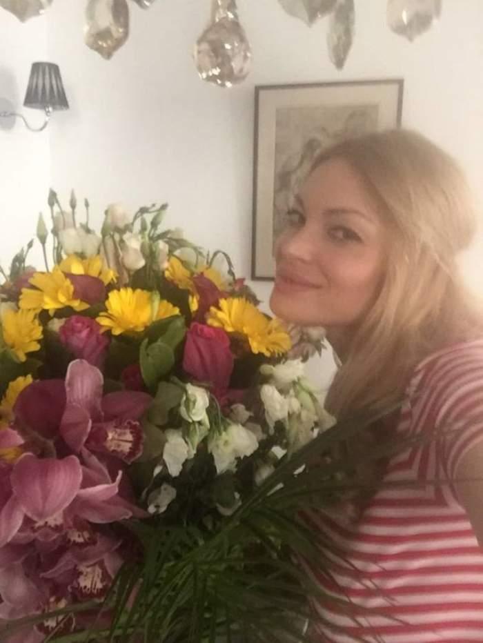VIDEO / Valentina Pelinel vorbește despre mutarea în casa lui Cristi Borcea