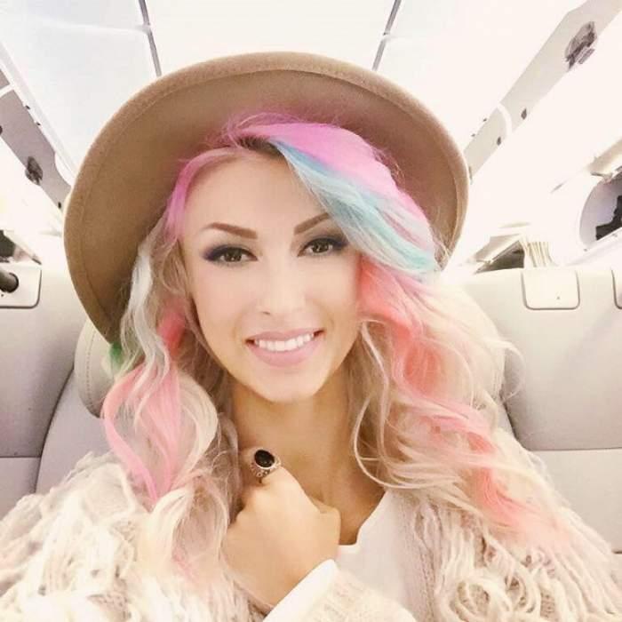 FOTO / Andreea Bălan a renunţat la culorile excentrice din păr şi s-a vopsit aşa! Cum arată acum artista