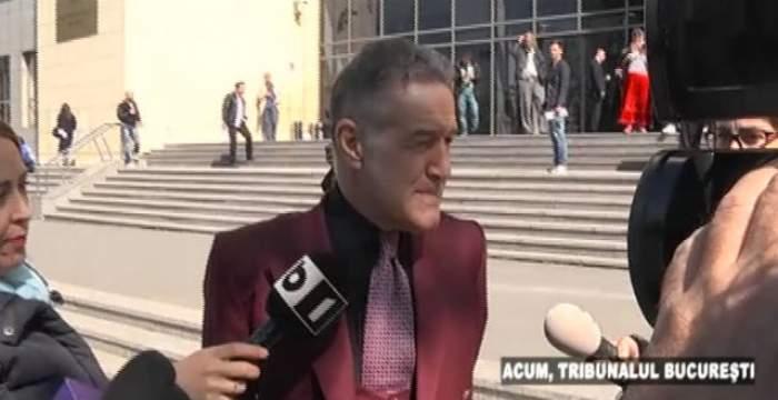 VIDEO / Gigi Becali, primele declaraţii după ce s-a prezentat în faţa judecătorilor! Ce se întâmplă în procesul pentru marca Steaua
