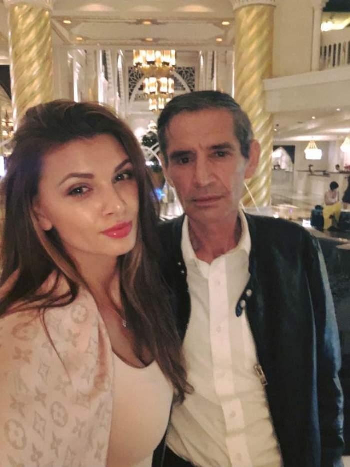 Cum îşi răsfaţă Ramona Gabor tatăl în Dubai! Bărbatul pare mai fericit ca niciodată