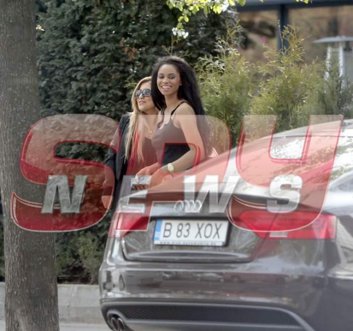 Laurette, gest de tot râsul, chiar în mijlocul străzii! Paparazzii Spynews.ro au surprins totul