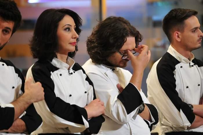 """FOTO / Echipa lui Chef Florin Dumitrescu, """"tunsă"""" la trei la """"Chefi la cuţite""""!"""