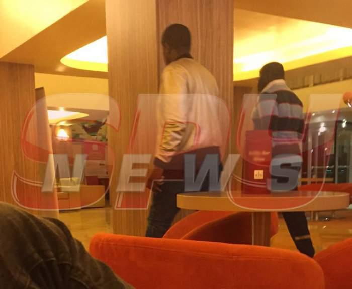 FOTO /  Soţia lui Patrick Ekeng, distrusă. Ce s-a întâmplat la hotelul în care a fost cazată. Imagini tulburătoare surprinse de paparazzii spynews.ro