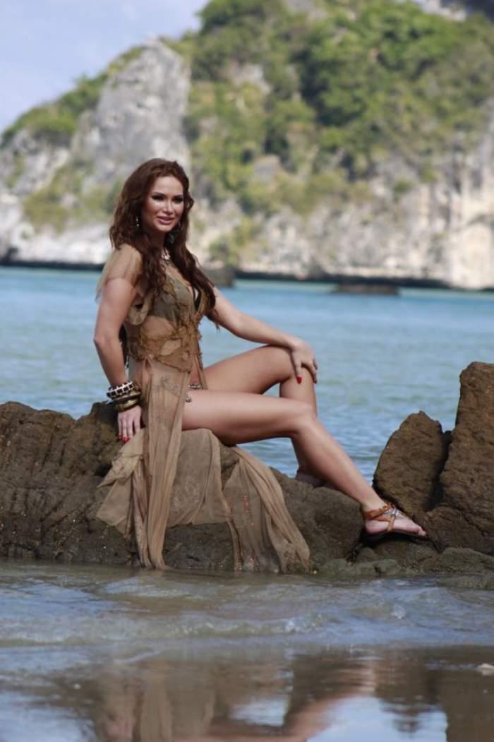"""Maria Ilioiu, ispită la """"Insula iubirii"""", a făcut dezvăluiri picante despre emisiune, dar și despre concurenți"""