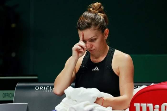 Simona Halep, învinsă la Roma de sportiva Daria Gavrilova