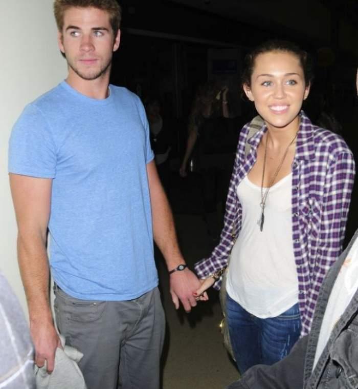 Cine să îi mai înțeleagă? El spune că nu sunt logodiți, dar Miley Cyrus le-a dezvăluit prietenilor că este ÎNSĂRCINATĂ