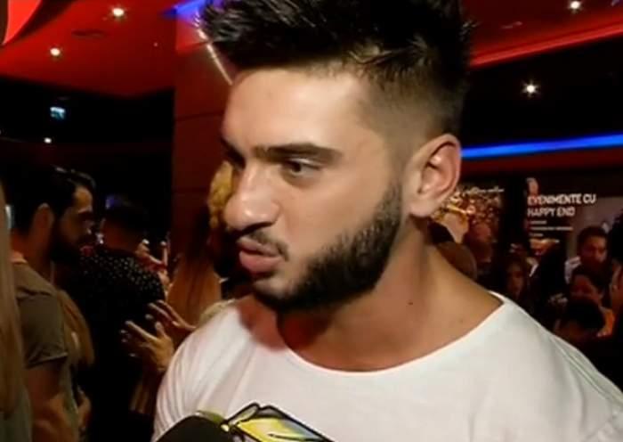 """VIDEO / Dorian Popa, faţă în faţă cu burtica de gravidă a iubitei! """"Dacă aş pune eu scutecelul..."""""""
