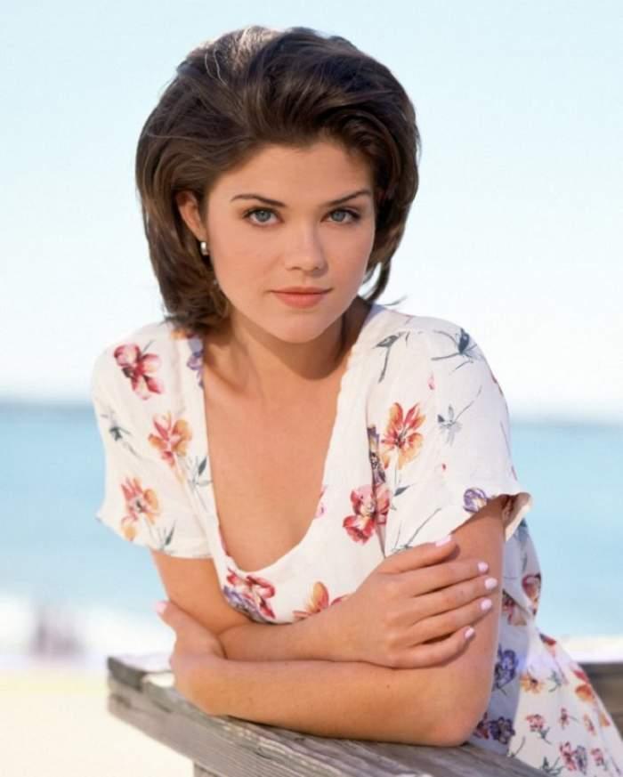 """FOTO / Îţi mai aminteşti de Meg din """"Sunset Beach""""? Formele ei apetisante sunt istorie! A devenit """"pufoasă"""" şi e de nerecunoscut"""