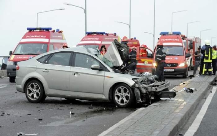 Accident grav pe DN1, în zona Băneasa! O femeie a murit, iar un bărbat şi un copil au fost răniţi