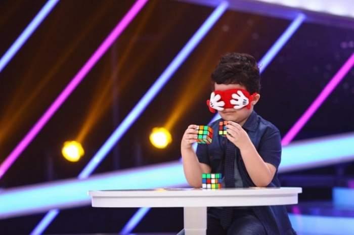 VIDEO / A urcat pe scenă extrem de emoţionat, dar i-a dat gata pe juraţi! Ce a făcut puştiul care l-a obligat pe Dorian Popa să facă flotări