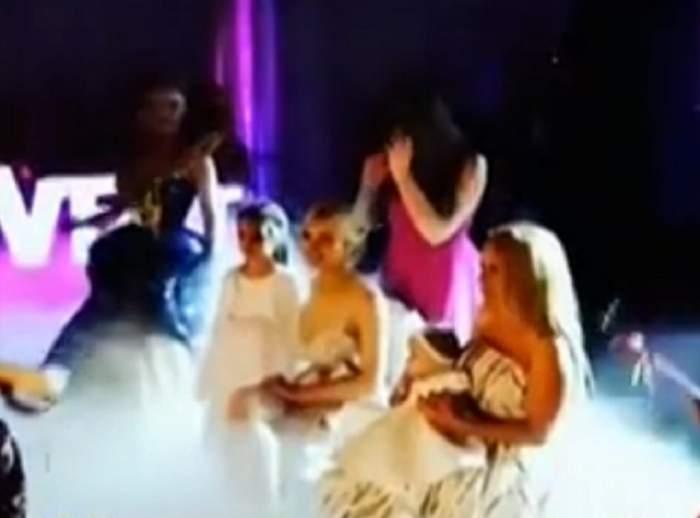 VIDEO / Imaginile NEVĂZUTE de la botezul fetiţei Andei Adam!