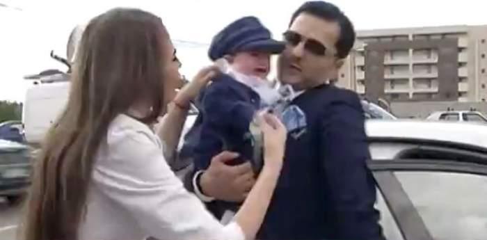 """VIDEO / Liviu Vârciu, un naș sufocat de emoții: """"Îmi dorec foarte mulți copii. La anul, cu siguranță!"""""""
