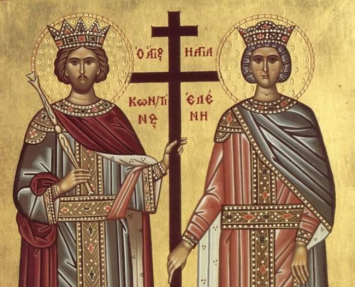 Ce să faci pe 21 Mai de Sfinţii Constantin şi Elena! Tradiţii, obiceiuri şi superstiţii