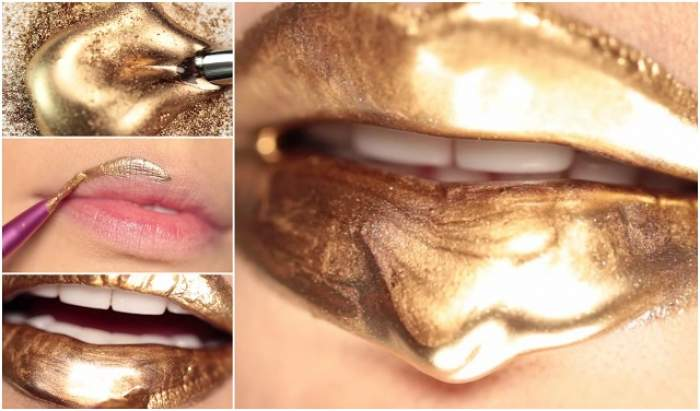 VIDEO / Machiajul care a hipnotizat tot internetul! Fă-ţi şi tu buze de regină egipteană din două ingrediente simple