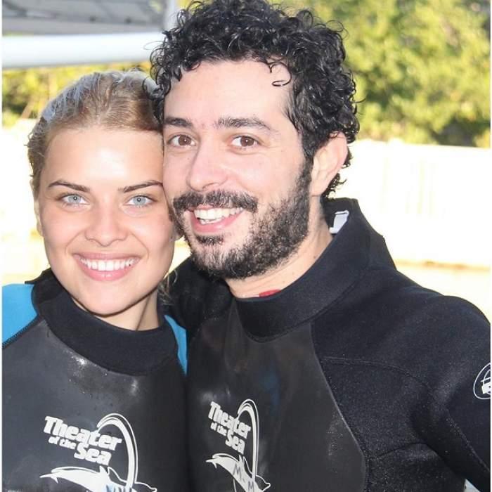 FOTO / Imaginea fericirii absolute! Cum au fost surprinşi Marius Moga şi Bianca Lăpuşte
