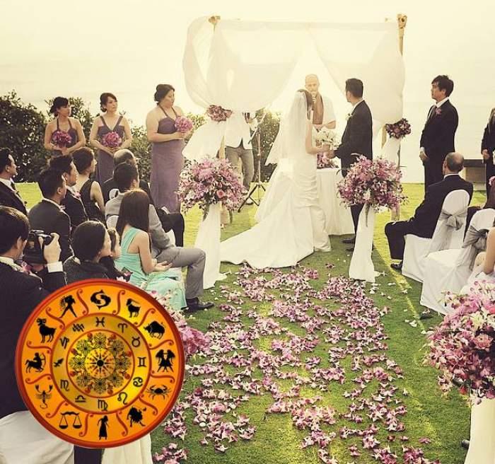 ÎNTREBAREA ZILEI - VINERI: Ce fel de nuntă ar trebui să ai în funcţie de zodie?