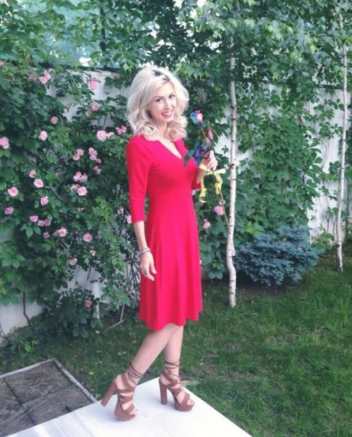 Gravidă, Andreea Bălan depășește problemele cu ajutorul fanilor
