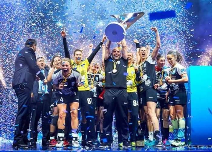 Triplă istorică pentru CSM București! După Liga Campionilor, handbalistele au câștigat campionatul și Cupa României