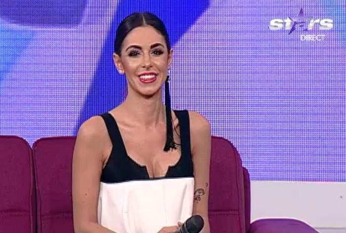 VIDEO / Natalia Mateuţ, prima apariţie după ce şi-a pus silicoane. Îţi place cum arată?