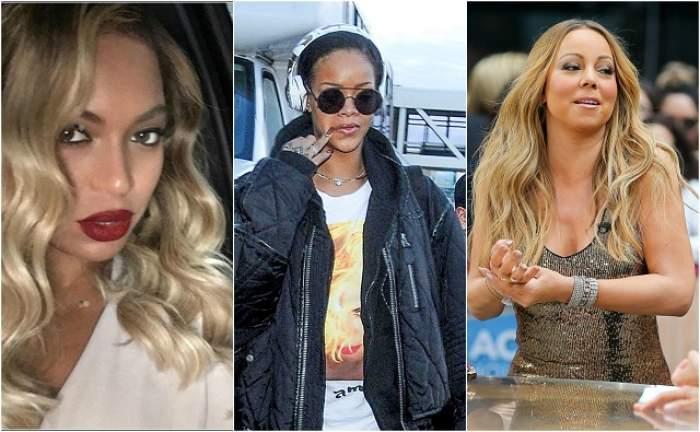 VIDEO / Ipoteză halucinantă: Beyonce, Rihanna şi Mariah Carey au murit acum un an?! Cine urcă pe scenă în locul lor