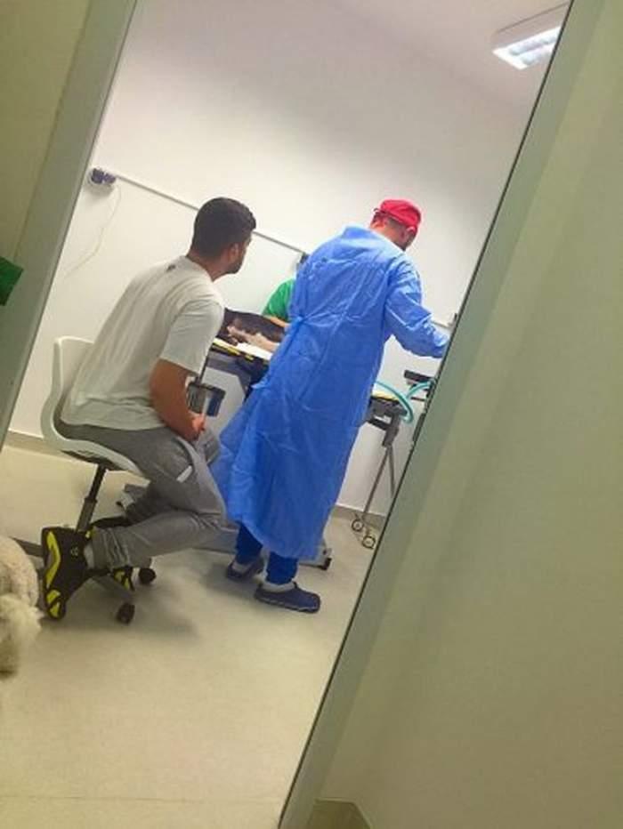 FOTO / Adelina Pestriţu şi Speak, de urgenţă la spital, în toiul nopţii