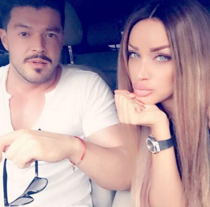 Bianca Drăguşanu are de ce să fie mândră. Ea se pregătea să meargă la tv şi să vorbească despre sarcină, iar Victor Slav făcea asta!