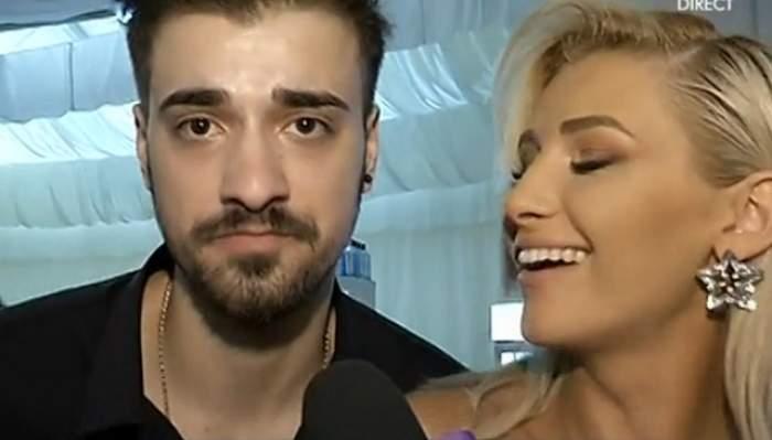 VIDEO / Liviu Teodorescu, flirt cu Alina Eremia în faţa camerelor! Gestul care l-a dat de gol