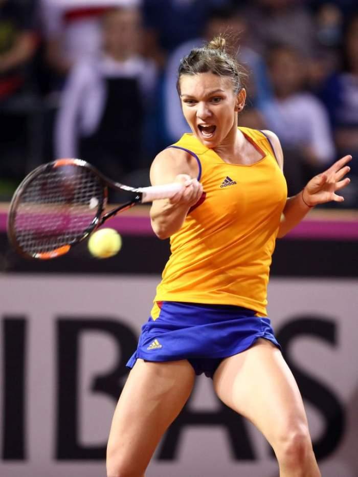 Simona Halep, victorie de senzație la Turneul Premier de la Madrid! Pe cine va întâlni în turul următor