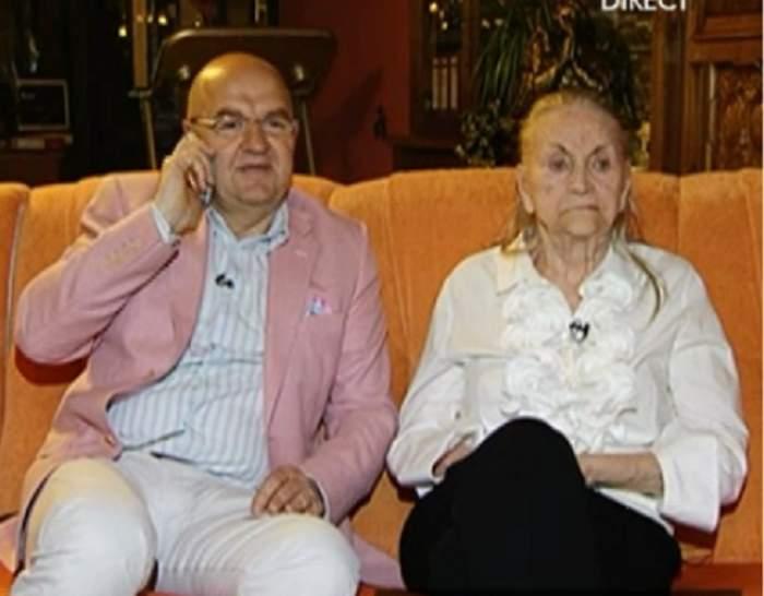 VIDEO / Zina Dumitrescu, sărbători la cămin! Creatoarea de modă, primele declaraţii după ce s-a spus că a fost abandonată în azil de băiat