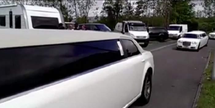VIDEO / Înmormântare cu alai pentru Regina Romilor! Caleaşca funerară, urmată de 11 limuzine
