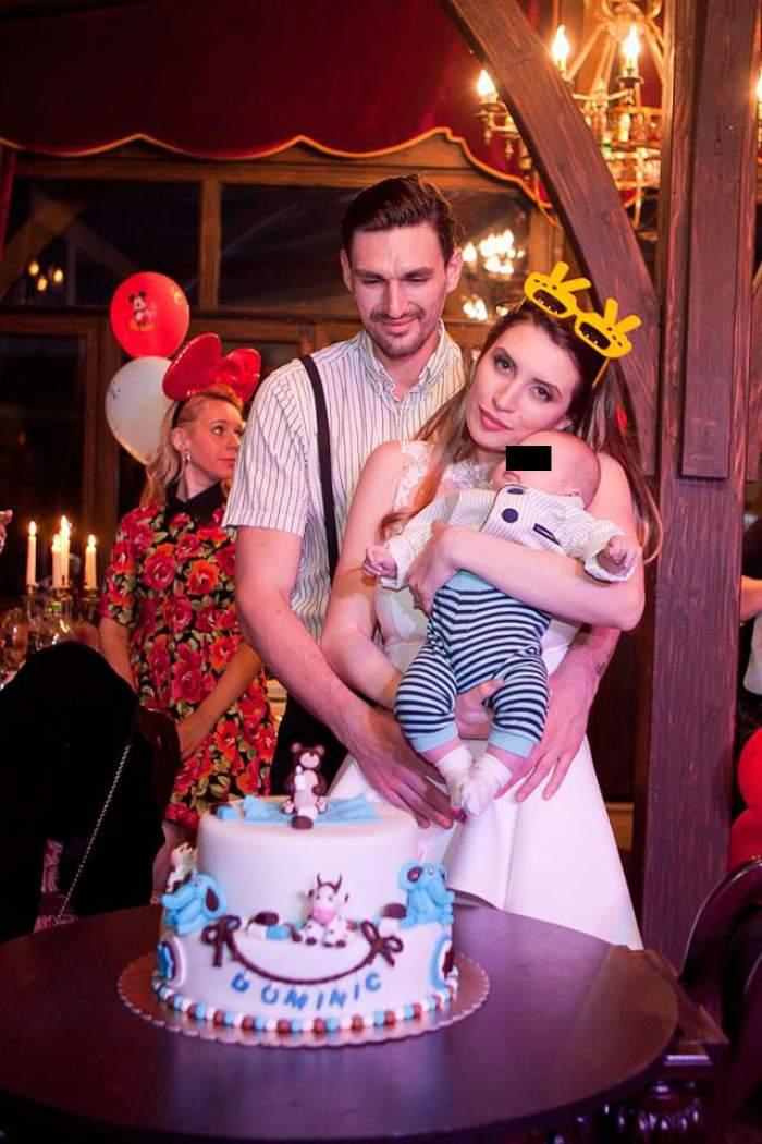 """FOTO / Adelina Boie, fosta concurentă de la """"Burlacul"""", şi-a botezat fiul! Petrecerea a fost una ca la Hollywood"""