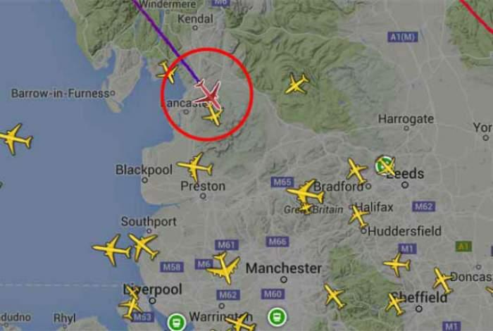 Situaţie de urgenţă la bordul unei aeronave! Zborul a fost deviat
