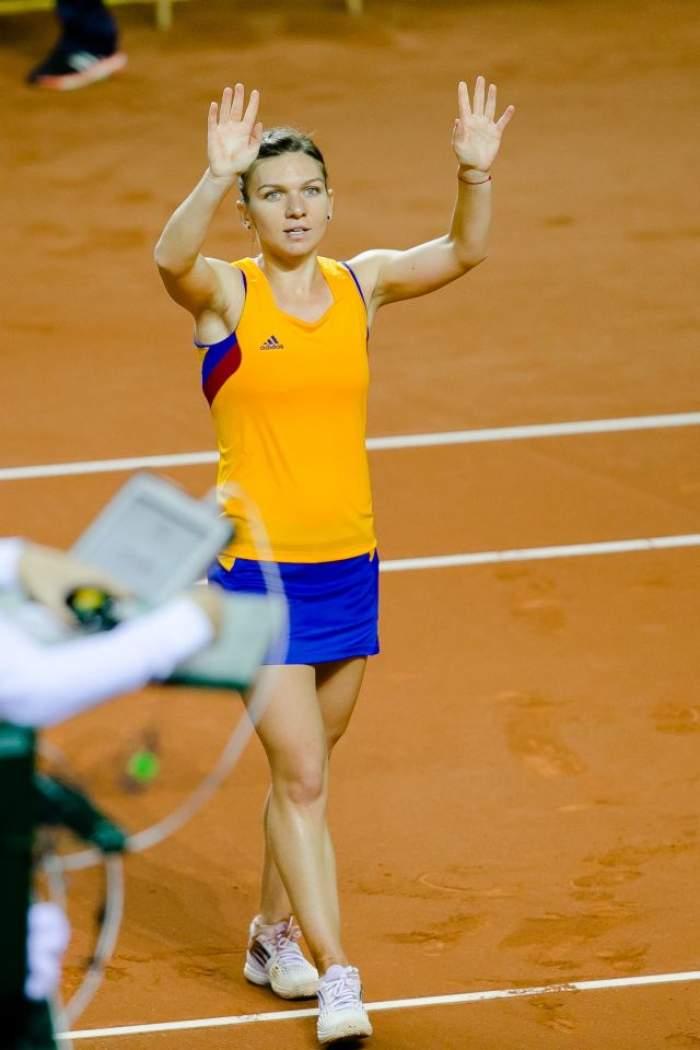 Simona Halep, victorie de senzație împotriva Timeei Bacsinszky! Pe cine va întâlni în turul următor