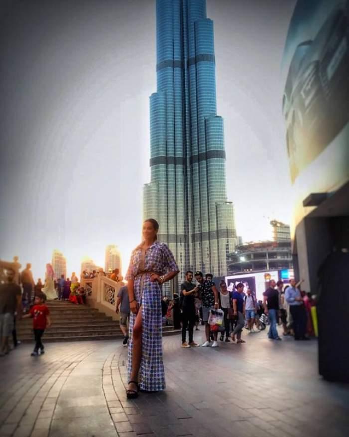 Iuliana Luciu, vacanță de huzur în Dubai! Cât plătește fosta asistentă TV pentru a se lăfăi în hoteluri de lux