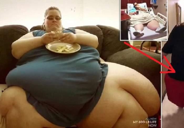 VIDEO / Cea mai grasă femeie din lume a slăbit 200 de kg! Cum arată acum Charity Pierce, după ce a ajuns de la 353 de kg la 153