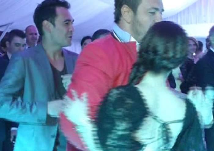 VIDEO / Horia Brenciu a invitat-o la dans pe fosta soţie a lui Răzvan Simion sub privirile acestuia! Reacţia matinalului este surprinzătoare