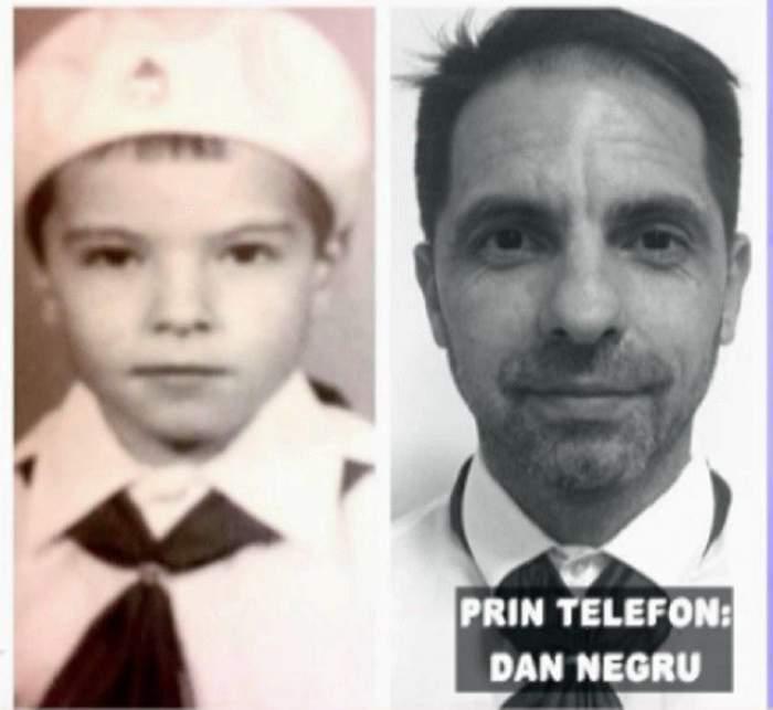 """Dan Negru, despre copilărie: """"Mi-amintesc de drumurile pe care le făceam la mare, nu știam ce e aia centură de siguranță"""""""