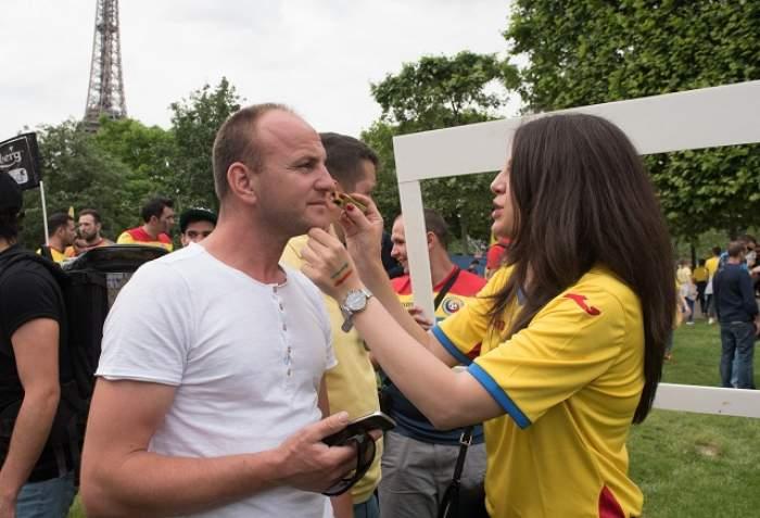 GALERIE FOTO / Avem cele mai tari imagini de la meciul Franţa – România! Fete frumoase, suporteri minunaţi şi fotbalişti de top!