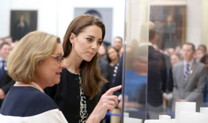 FOTO / Kate Middleton, în doliu! Prinţul William a însoţit-o la evenimentul trist