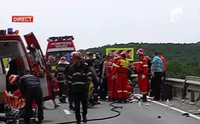 Cine sunt oamenii care au murit în urma răsturnării autocarului la Braşov, pe DN1!