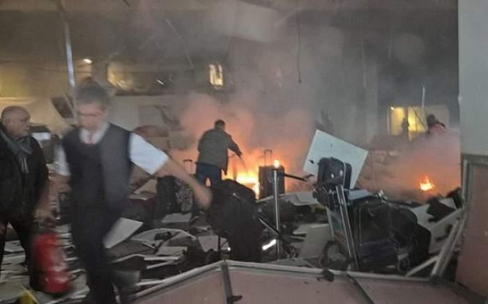 Un nou atac terorist! Explozii pe Aeroportul Ataturk din Istanbul! 28 de persoane au murit, alte 60 sunt rănite