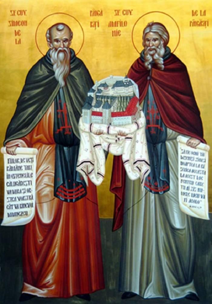 Sfinții Cuvioși Simeon și Ioan sunt pomeniți în calendarul creștin ortodox