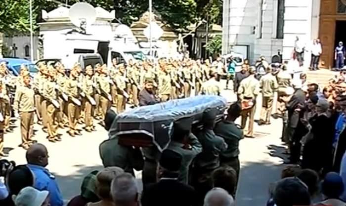 Incident la înmormântarea lui Radu Beligan! Ce s-a întâmplat