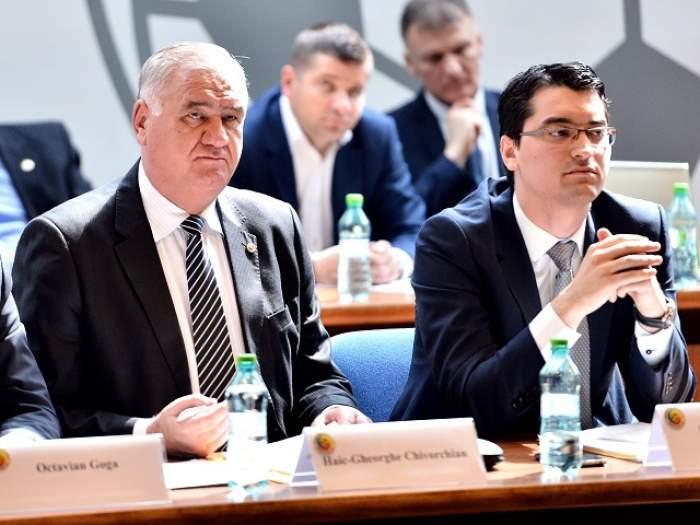Scandal URIAȘ la Federația Română de Fotbal! Răzvan Burleanu pregăteşte mazilirea mâinii sale drepte!